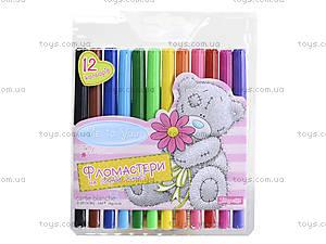 Фломастеры детские, 12 цветов, 650145