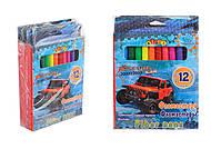 Фломастеры 12 цветов HIGH SPEED (3 набора в упаковке), 13314, интернет магазин22 игрушки Украина