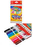 Фломастеры 2-сторонние 10 цветов COLORINO , 13451PTR1, детские игрушки