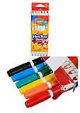Фломастеры 2-сторонние 6 цветов COLORINO, 13437PTR1, игрушки