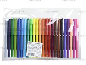 Фломастеры детские, 24 цвета, 650120, купить