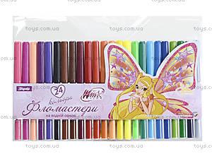 Фломастеры детские, 24 цвета, 650120
