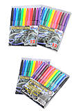 """Фломастеры """"Car"""" 12 цветов, Josef Otten (2 набора в упаковке), 828BC_12, детские игрушки"""