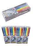 """Фломастеры """"Car"""" 6 цветов (4 набора в упаковке), 828BC_6, отзывы"""
