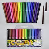 Фломастеры «Color Pen» 24 цвета, 01486, цена