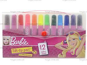 Фломастеры цветные Barbie, BRDLR-12S-4M-12, отзывы