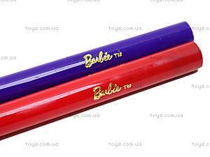 Фломастеры цветные «Barbie», 6 штук, BRDLR-12S-1M-6, игрушки