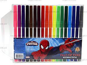 Фломастеры цветные «Человек-паук», SMAB-US1-1M-18