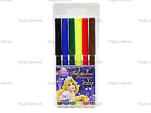 Фломастеры цветные «Рапунцель», PRGL-12S-1M-6