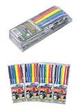 """Фломастеры """"Джип"""" 6 цветов (4 набора в упаковке), 828BD_6, интернет магазин22 игрушки Украина"""