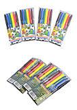"""Фломастеры """"Goal""""  6 цветов, Josef Otten (4 набора в упаковке), 828BO_6, игрушка"""