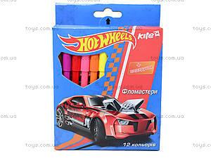 Фломастеры Hot Wheels, 12 штук, HW14-046K