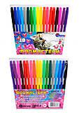 """Фломастеры """"Котенок"""" 18 цветов, Josef Otten  , 828BR_18, детские игрушки"""