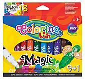 Фломастеры Magic 10 штук 18 цветов Colorino, 34630PTR, оптом