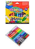 Фломастеры магические, 10 цветов, 34630PTR, купить игрушку