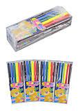 """Фломастеры """"Мишка"""" 6 цветов (4 набора в упаковке), 828BM_6, детские игрушки"""