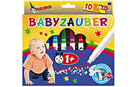 Фломастеры на водной основе MALINOS Babyzauber для малышей 10 шт, MA-300011