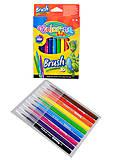 Фломастеры Colorino Brush, 10 цветов, 65610PTR, интернет магазин22 игрушки Украина