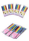 """Фломастеры """"Щенок"""" 6 цветов, Josef Otten (4 набора в упаковке), 828BP_6, игрушка"""