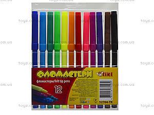 Комплект детских фломастеров, 12 цветов, 52704-TK, купить