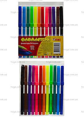 Комплект детских фломастеров, 12 цветов, 52704-TK