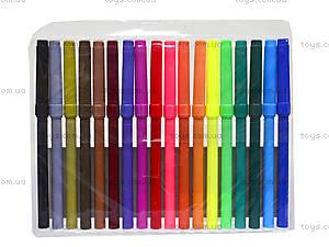 Комплект детских фломастеров, 18 цветов, 52705-TK, фото