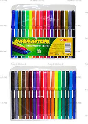 Комплект детских фломастеров, 18 цветов, 52705-TK