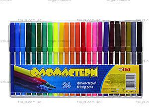 Комплект детских фломастеров,  24 цвета, 52706-TK, купить