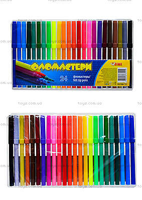 Комплект детских фломастеров,  24 цвета, 52706-TK