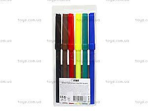 Комплект детских фломастеров, 6 цветов, 52708-TK, фото