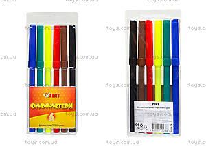 Комплект детских фломастеров, 6 цветов, 52708-TK