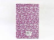 """Фоамиран с глитером """"Сердечки"""" 20*30см, 10 листов, фиолетовый с серебром, 10516, детские игрушки"""