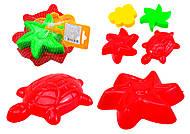 Детская формочка для игры в песочнице, 39070, отзывы