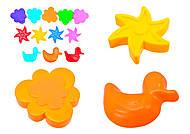 Детская формочка для игры в песке, 39061, фото