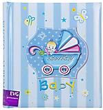 """Фотоальбом """"Baby"""" 200 фотографий голубой, BKM46200_Baby, отзывы"""