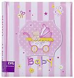 Фотоальбом «Baby» 200 фотографий (розовый), BKM46200_Baby, купить игрушку