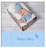 "Фотоальбом ""Baby blue"", 20sheet S22x3, опт"