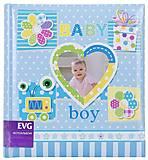 Фотоальбом «Малыш» 100 фотографий (голубой), BKM68100_Boys, набор