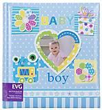 Фотоальбом «Малыш» 200 фотографий (голубой), BKM57200_Boys, купити
