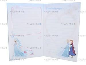 Детский блокнот «Frozen. Холодное сердце», Ч457056Р, фото
