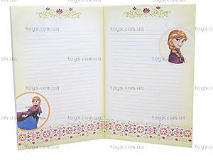 Детский блокнот «Frozen. Холодное торжество», Ч457060Р, фото