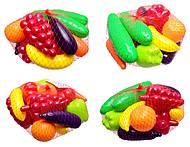 Детский игровой набор «Фрукты и овощи», 379, фото