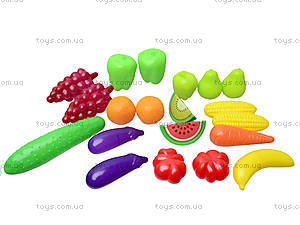 Фрукты и овощи в наборе, 20 предметов, 386, отзывы