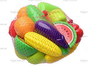 Фрукты и овощи в наборе, 20 предметов, 386, игрушки