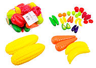 Детский набор «Фрукты и овощи», 518, тойс