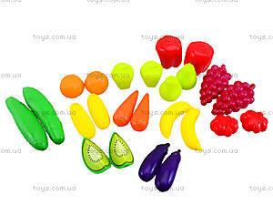 Детский набор «Фрукты и овощи», 518, детские игрушки