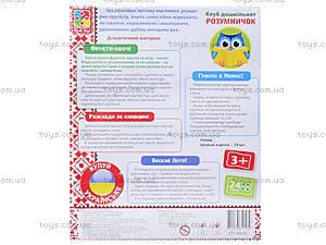 Игра для дошкольников «Фрукты, овощи», VT1306-06, цена