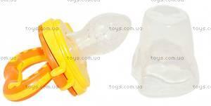 Фрут Фидер силиконовый оранжевый, 6202-1