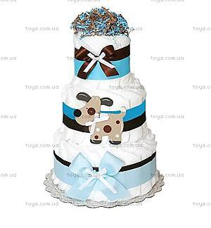 Торт из памперсов Fun puppy, PPC18