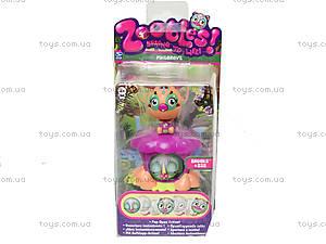 Функциональная фигурка Zoobles с домиком, 13200-6015734-ZB